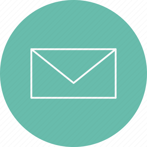 email, inbox, send icon