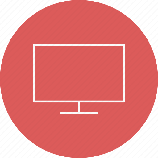 device, lcd, tv icon