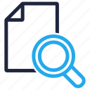 file, find, result, search icon