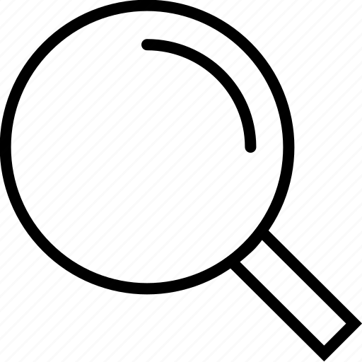 active, glass, magnifier, magnifying, search icon
