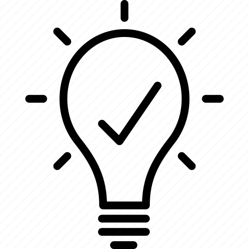 bright, bulb, creative, light, services, solution icon