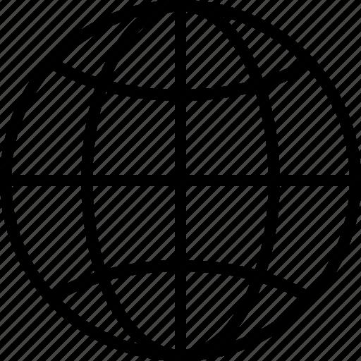 global, globe, international, network, web icon