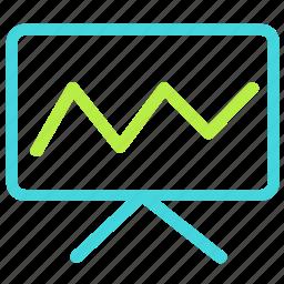 analytics, chart, finance, statistics icon
