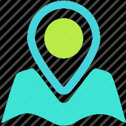 gps, locate, location, navigate icon