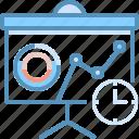 analysis, board, marketing, seo, web icon
