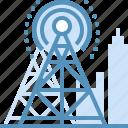 broadcast, marketing, seo, web icon