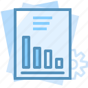 business, document, market, paper, seo, web icon