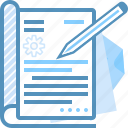 document, market, paper, pencil, seo, web, write icon