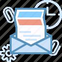 email, marketing, send, seo, web icon
