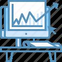 analysis, communiction, evaluation, marketing, monitoring, web icon