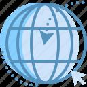 arrow, global, marketing, network, seo, web icon