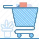 finance, marketing, seo, shop, shopping, web icon