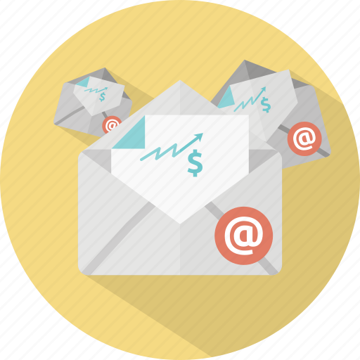 electronic, email, envelope, letter, mail, marketing, message icon