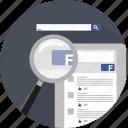facebook, like, media, network, search, social