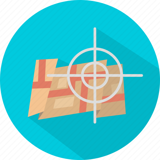 geotargetting, map, pointer, position, target icon
