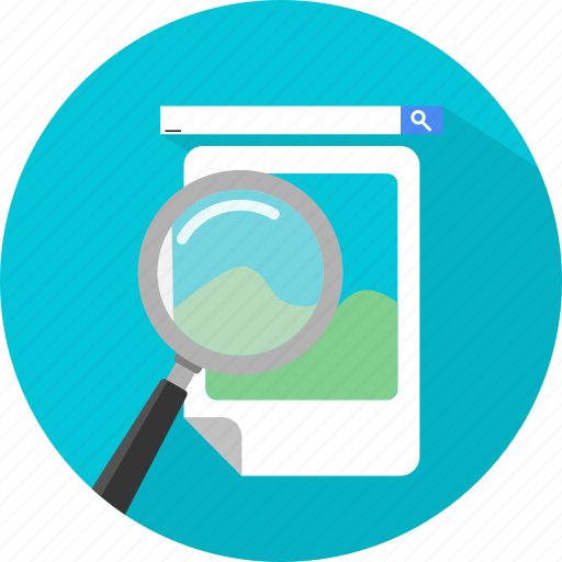 find, image, search, seo icon