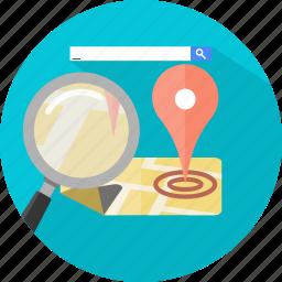 find, local, search, seo icon