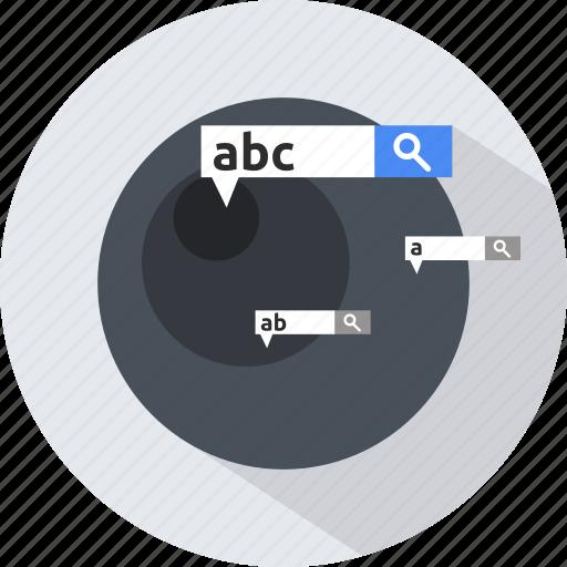 find, search, seo, specific icon