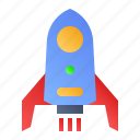 booster, launch, rocket, spaceship icon
