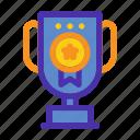 achievement, marketing, reward, seo, trophy, website, winner icon