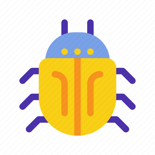 bug, database, insect, marketing, seo, virus, website icon