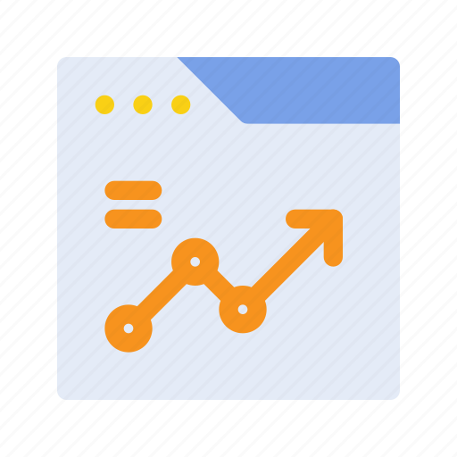 graph, growth, marketing, seo, statistic, ui ux, website icon
