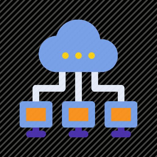 cloud, computing, marketing, networking, seo, storage, website icon