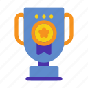achievement, marketing, reward, seo, trophy, website, winner icon
