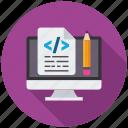 code, design, seo, seo icons, seo pack, seo services, seo tools icon