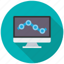 monitoring, seo, seo pack, seo services, seo tools icon