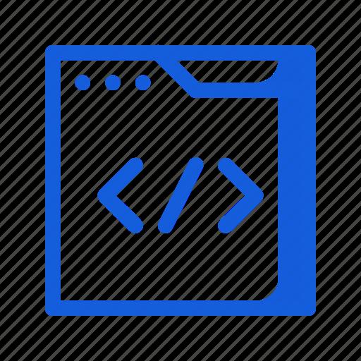 coding, html, marketing, programming, seo, ui ux, website icon