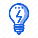 bulb, creative, idea, light, marketing, seo, website icon