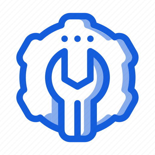 gear, marketing, preference, seo, setting, website, wrench icon