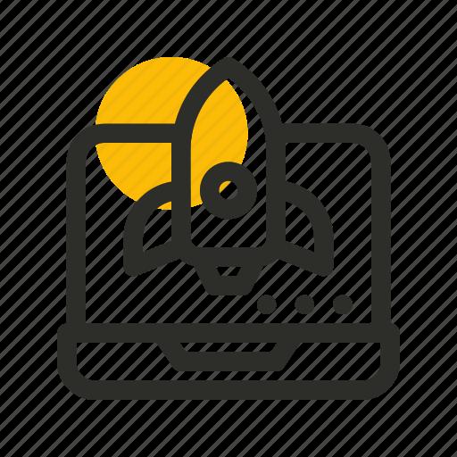boost, launching, marketing, rocket, seo, speedup, website icon