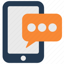 android, chat, iphone, phone, sms, text message icon