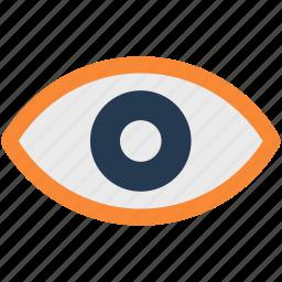 communication, creative, eye, vision icon