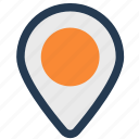 direction, gps, location, navigation icon