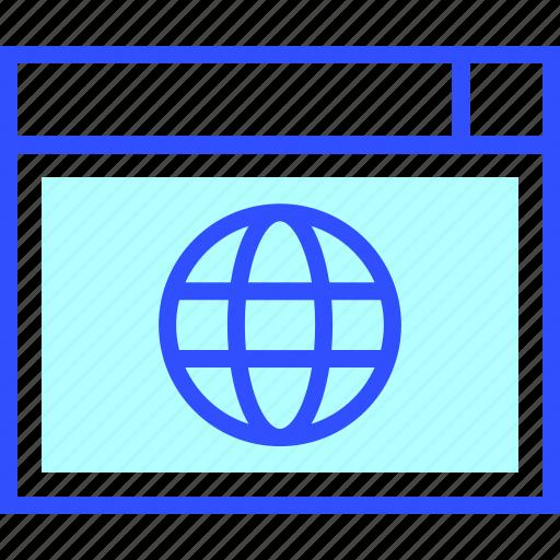 business, company, domain, internet, optimization, startup, web icon