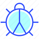 bug, business, company, engine, internet, optimization, startup icon