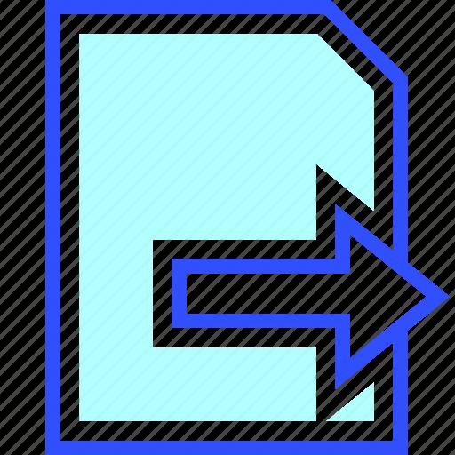 business, company, data, export, internet, optimization, startup icon
