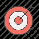 arrow, dart, goal, goals, seo, target icon