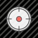 aim, goals, market, seo, sniper, target, targeted