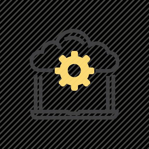 cloud, computing, data, file, storage icon