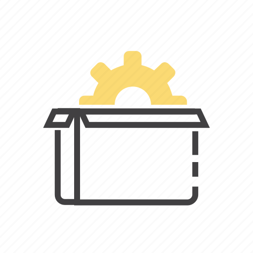 delivery, marketing, optimization, package, seo icon
