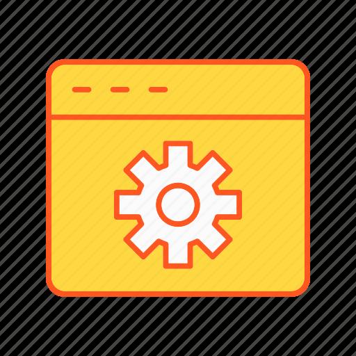 browser setting, setting, settings icon