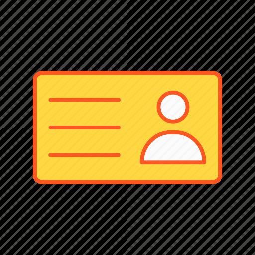 card, id, id card icon