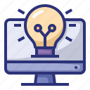 bulb, lamp, creative, business