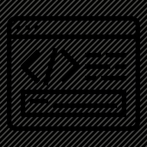 Coding, code, programming, development icon - Download on Iconfinder