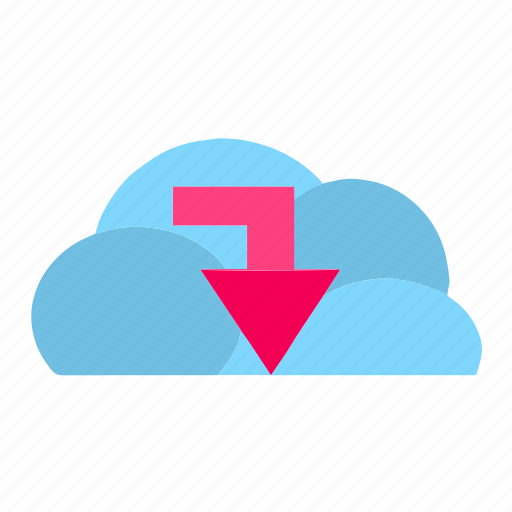 cloud, clouds, cloudy, data, download, storage, upload icon