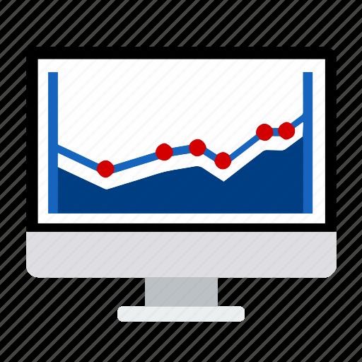 analysis, analytics, chart, graph, monitoring, seo, statistics icon